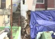 커지는 태풍 다나스 피해…해수욕장은 '쓰레기 집하장'