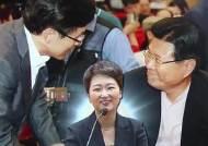 이언주 출판기념회, 황교안-홍문종 '러브콜' 신경전?
