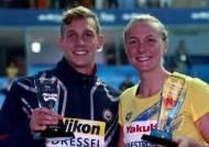 드레슬·셰스트룀, 2회 연속 세계수영선수권 남·여 MVP