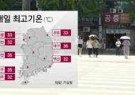 [날씨] '폭염특보' 전국 대부분 확대…일부 내륙 '소나기'