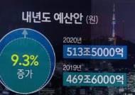 겹겹 악재에 '513조 슈퍼예산' 푼다…연구개발·일자리 집중