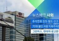 [뉴스체크|사회] 그린피스, 현대차 광고판 훼손