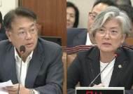 """강경화, 김현종과 언쟁 """"부인 않겠다""""…'불화설' 수면 위로"""