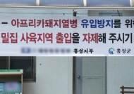 """'전국 최대 양돈단지' 충남, """"뚫리면 끝장"""" 방역 초비상"""