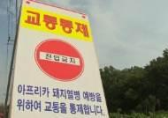 '아프리카돼지열병' 발생 열흘째…감염 경로 '미스터리'