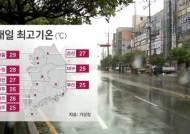 [날씨] 낮 최고 29도 '내일도 더워요'…제주·남부에 비
