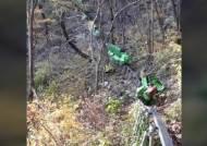 군위 생태농원 모노레일, 내리막길서 탈선…7명 부상