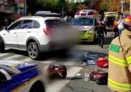인도 덮친 '만취 운전'…보행자 1명 숨지고 3명 다쳐
