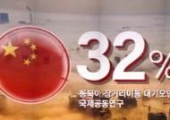 국내 미세먼지 '국외 영향'…중국 정부 '32% 영향' 첫 인정