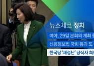 [뉴스체크|정치] 한국당 '재정난' 당직자 희망퇴직