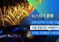 [뉴스체크|문화] 서울 영동대로 새해맞이 행사