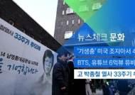 [뉴스체크|문화] 고 박종철 열사 33주기 추모제