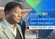 [뉴스체크|정치] '국회경위 폭행 혐의' 김명연 수사