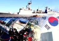"""'호르무즈 파병' 청해부대, 이란 선박 구조…이란 """"감사"""""""