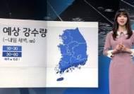 [날씨] 밤까지 전국 비…남해안·제주 100mm 안팎