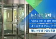 [뉴스체크|경제] 확진자 발생 수출입은행 폐쇄