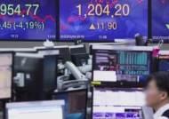 외국인 '역대 최대액 순매도'에…코스피 4.2% 폭락 마감