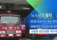 [뉴스체크|정치] 소방관 5만2천명 '국가직' 전환
