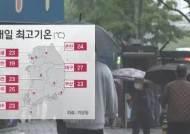 [날씨] 아침까지 약한 비…낮부터 기온 크게 올라