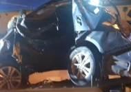 상주-영천 고속도로서 가드레일 충돌 사고…2명 사망