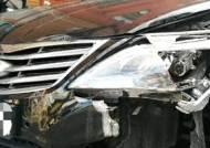 만취한 30대 운전자 골목서 차량 10여대 연쇄 충돌