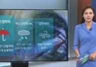 [날씨] 전국 흐리고 비…예상 강우량 50~150㎜