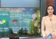 [날씨] 전국에 구름 많음…강원 영동 천둥·번개 동반 비