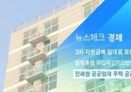 [뉴스체크|경제] 전세형 공공임대 입주자 모집