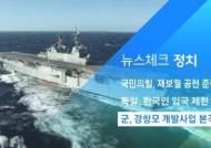 [뉴스체크|정치] 군, 경항모 개발사업 본격 착수