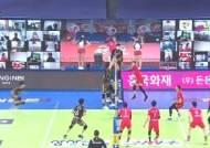 '펠리페 24점' OK금융그룹, 한국전력에 풀세트 승리