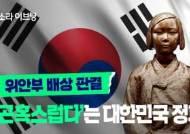 [소셜픽] 위안부 배상 판결 '곤혹스럽다'는 대한민국 정부