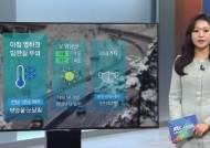 [날씨] 아침 중부지방 중심 영하권…빙판길 주의