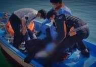 구명장비 점검하다 튜브 들고 바다로…생명 구한 소방관