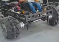 몸집 2배 불려 굴러가는 '변신 타이어'…국내 연구진 개발