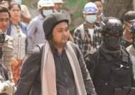 차로 친 뒤 체포…미얀마 민주화 운동 지도자 붙잡혀