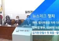 [뉴스체크|정치] 김기현·안철수 첫 회동…합당 논의