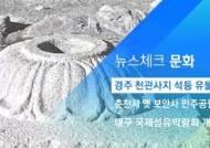 [뉴스체크|문화] 경주 천관사지 석등 유물 도난