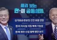 한·미 정상회담 공동성명 '판문점 선언 존중' 포함 전망