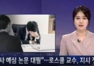 """'논문 대필 의혹' 검사 항소심...""""예비심사 논문은 본질상 계획서"""""""
