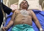 """브라질 대통령 10일째 """"딸꾹, 딸꾹, 딸꾹""""…수술대 오를 수도"""
