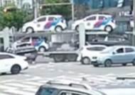 전남 여수서 '보행자 3명 사망' 탁송 트럭 운전자 구속