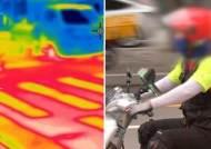 """[밀착카메라] """"헬멧이 60도""""…폭염 속 배달 뛰어보니"""