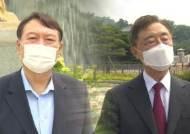 윤석열·최재형, 세 대결·좌장 쟁탈전…'쥴리' 앞에선 한마음