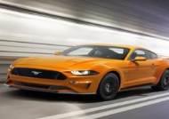포드, 신형 머스탱 공개… V8 엔진 갖춘 10단 자동변속기 탑재