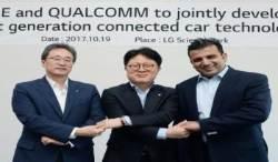 "LG-퀄컴,차세대 커넥티드카 솔루션 공동 개발 ""자율주행차 부품시장 선도 할 것"""