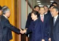 박 대통령, 초대 국민안전처 박인용 장관 내정