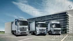 벤츠 트럭, 유로6 환경기준 맞춘 풀 체인지 모델 선보여