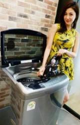 LG전자, 전자동 스팀 세탁기 '블랙라벨' 선보여