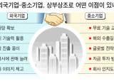 외국기업들 '中企 힘 빌리기'
