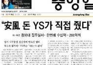 """['安風' 항소심 무죄 판결] """"청와대 자금"""" 강삼재씨 주장 인정"""